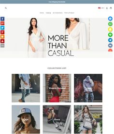 Our Latest #CustomDesigned #theme for #Ladieswear #Ladies stores for #ecommerce & #dropshipping #onlinebusiness see more at shopdesignagency.com Drop Shipping Business, Ecommerce Store, Design Websites, Create Website, Social Marketing, Marketing Materials, Online Business, Web Design, Women Wear