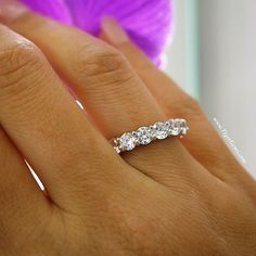 The 4.25 carat eternity ring just launched at www.TigerGems.com. 💖💎
