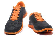 Nike Free 4.0 V2 Femme 006 [NIKEFREE 052] - €61.99 Grey Sneakers, Sneakers Nike, Nike Free, Running Shoes For Men, Mens Running, Dark Grey, Orange, Silver, Women