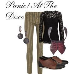 """""""Panic! At The Disco"""" inspired outfit"""