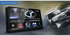 "#Kenwood DNX5170BTS 6.2"" #Navigation/AV-Receiver with #Bluetooth & Smartphone Control !"