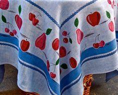 vintage Swedish tablecloth