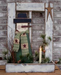 New Winter Wood Crafts Diy Wooden Snowmen Ideas Christmas Wood Crafts, Snowman Crafts, Noel Christmas, Primitive Christmas, Rustic Christmas, Christmas Projects, Holiday Crafts, Christmas Decorations, Christmas Ornaments