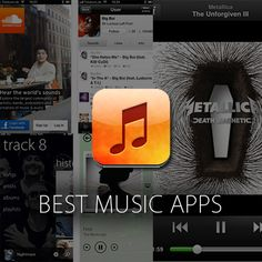 Best music Apps for your smartphone (iPhone, Android or Windows):  http://www.digitaltrends.com/mobile/best-music-apps/