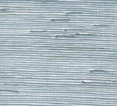 Metallic Silver and Aqua Grasscloth Wallpaper