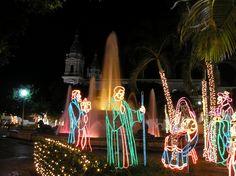 Christmas ponce plaza puerto rico -