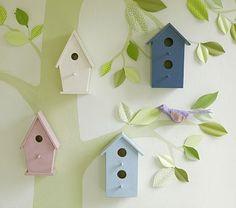 Tree & Birdhouse
