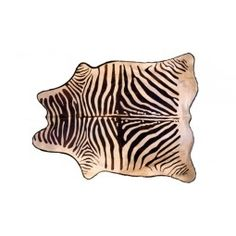 "Our Faux Zebra Hide is a stenciled cowhide from Brazil, widely known to produce the finest cowhides available. It is tanned to maintain suppleness and prevent shedding even after years of use. The unique felt backing provides a foot-pleasing layer of cushioning as well as an attractive border.      •approximately 85"" x 65""    •stenciled cowhide    •felt back with .5"" flange"