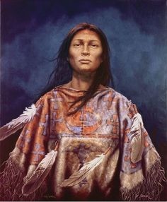 """Author Kirby Sattler sells his paintings well above five digit figures and is know for his limited edition giclee prints. He is now allowing us to sell the """"Natane, Daughter of the Ghost Dance"""" Native American Indian print in two sizes from by up to by Native American Wisdom, Native American Artwork, Native American Women, American Indian Art, Native American Fashion, Native American History, Native American Indians, Dance Paintings, Indian Paintings"""