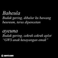 Dp Bbm Kata Kata Bahasa Sunda Lucu