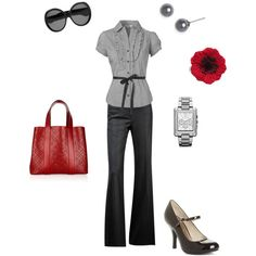 classic work outfit | remembrance- classic work clothes | Clothes, Make-Up, Hair