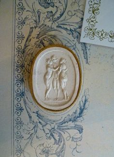 Antique Grand Tour Plaster Intaglio  The by DuncanGrantAntiques, $65.00