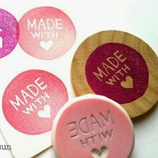 hand carved rubber stamp by talktothesun. rubber stamp of made with love in circle. modern calligraphy + text stamp series for diy crafts, handmade gifts, snail mails, business packaging. Clay Stamps, Stamp Printing, Printing On Fabric, Eraser Stamp, Stamp Carving, Handmade Stamps, Ideias Diy, Love Stamps, Ink Pads