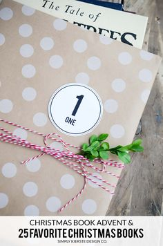 Christmas Book Advent Project--for kids.