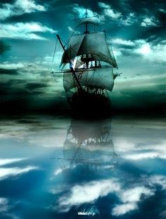 Image result for tall ship with a blue moon