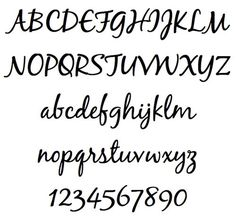 Scripts Fonts are very beautiful handwriting style elegant fonts. Scripts fonts are used in invitations, greetings etc. due to its beautiful artistic cursive look. Word Fonts, Cursive Fonts, Handwritten Fonts, Calligraphy Fonts, Penmanship, Beautiful Handwriting Styles, Beautiful Fonts, Bullet Journal Font, Journal Fonts