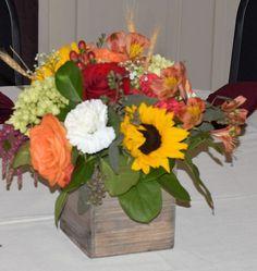 Sunflower Rustic Love for Melissa G's wedding!