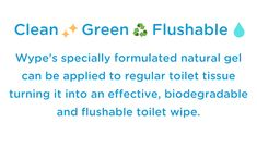 Wype: The eco-friendly wet wipe alternative