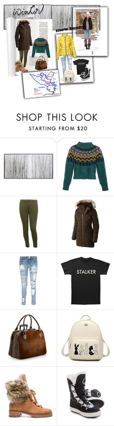 """""""Winter in Sundance"""" by bitterfrench on Polyvore featuring Home Decorators Collection, Temperley London, M&Co, SOREL, Boohoo, Aspinal of London, Alexandre Birman, Santana Canada, FAY and sundance"""