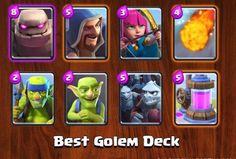 Clash Golem Arena Royale Best 6 Deck http://ift.tt/1STR6PC
