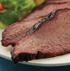 Nothing is better than smoked beef Brisket. Rub with your favorite blend of spices and smoke over hickory. Grilling perfection!