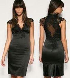 Bridesmaid #lace #black #non traditional