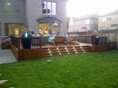 #deck #patio #rails #lights #interlocking