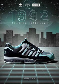 low priced 7525b a399f Sneaker Freaker x adidas Consortium Torsion Integral S