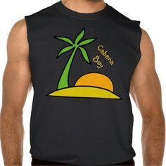 Deserted Tropical Island Sleeveless Shirt