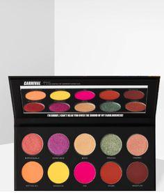 Uoma black magic Carnival palette eyeshadow #makeup