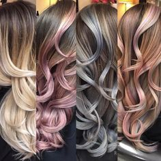 """13.8k Likes, 92 Comments - Dope Hair  Hairstyles (@imallaboutdahair) on Instagram: """"Which color?! We love them all!! @reanna_sn"""""""
