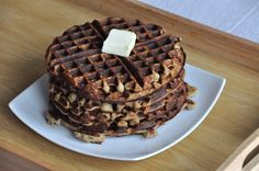 toasted coconut waffles (gluten free)