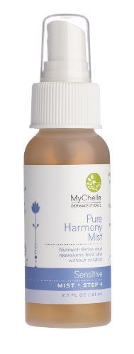 Product review for MyChelle  Pure Harmony Mist, 2.1 Fluid Ounce  - A refreshing burst of skin-enhancing nutrients works to boost youthful radiance in sensitive skin. Packed with powerful ingredients such as longevicell and blue lotus, this rejuvenating mist supports healthy skin regeneration and lessens the signs of aging. Longevicell – cell regenerator,...