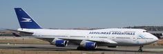 Boeing 747-400 Aerolineas Argentinas LV-ALJ, 27/08/11, MAD