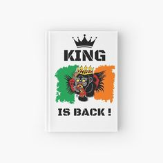 'King Is Back ! - Conor McGregor' Hardcover Journal by RIVEofficial Conor Mcgregor, Ufc, Sell Your Art, Custom Design, Finding Yourself, Digital Art, King, Trends, Channel