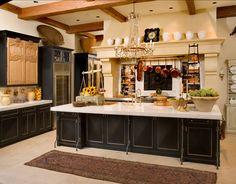 Interior Design Ideas: Kitchen - Home Bunch - An Interior Design & Luxury Homes Blog Kitchen Cabinet Doors, Kitchen Cupboards, New Kitchen, Kitchen Decor, Decorating Kitchen, French Kitchen, Country Kitchen, Kitchen Ideas, Kitchen Island