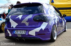 Tuning Adventure 1.0 Plauen  #tuning #crowdies #vw #r32 #lilalaune