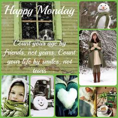 Monday Wishes, Happy Monday, Days Of Week, Months In A Year, Good Morning Greetings, Good Morning Quotes, Wish Quotes, Daily Quotes, Collages