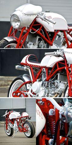 Ducati GT1000 Shifter by Yuri Shif Custom  http://motorivista.com/ducati-gt1000/