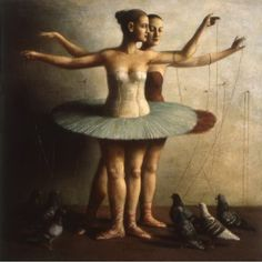 Ilya Zomb Pairs. One of my all-time favorite paintings