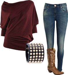 """Karley's Eric Church Outfit"" by wraceyjae on Polyvore"