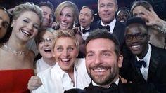 Oscar selfie game
