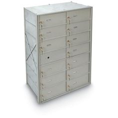 Postal Products Unlimited 13 Large Door Front Load 4B+ Horizontal Mailbox Anodized Aluminum
