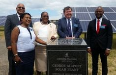 South Africa has opened the continent's first solar-powered airport in the Western Cape. George Airport, which serves over 600,000 passengers annually, has