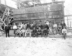 Florida Memory - Lumber mill workmen - Bay County, Florida