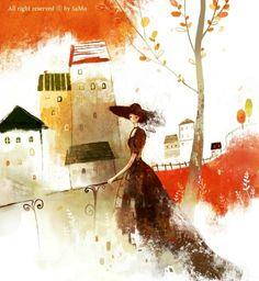 Kim Yoon Hee - illustration / art