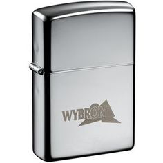7550-17: Zippo Windproof Lighter High Polish Chrome   Solid brass case. Sturdy nickel silver hinge. Specially designed windproof chimney. Removable stainless steel insert for refilling fuel tank. Lighter fluid not included.   - Products - Graph X Design - Promotional products, corporate gifts & clothing
