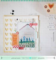Gratitude Theme - Mine by Marcy Penner @2peasinabucket