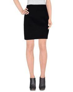 Knee length skirts by Neil Barrett, Women's, Size: 6, Black