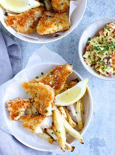 fisk-og-fritter - Fish'n chips